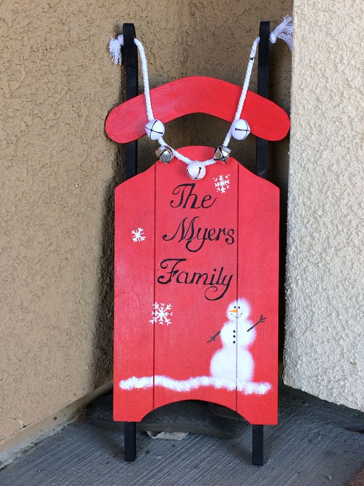 Unpainted Wooden Sled From Michaels 9 Christmas Wood Crafts Xmas Crafts Christmas Wood
