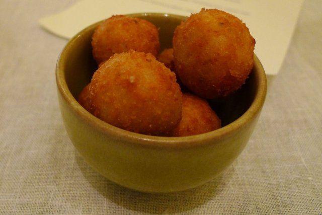 Croquetas de arroz sicilianas