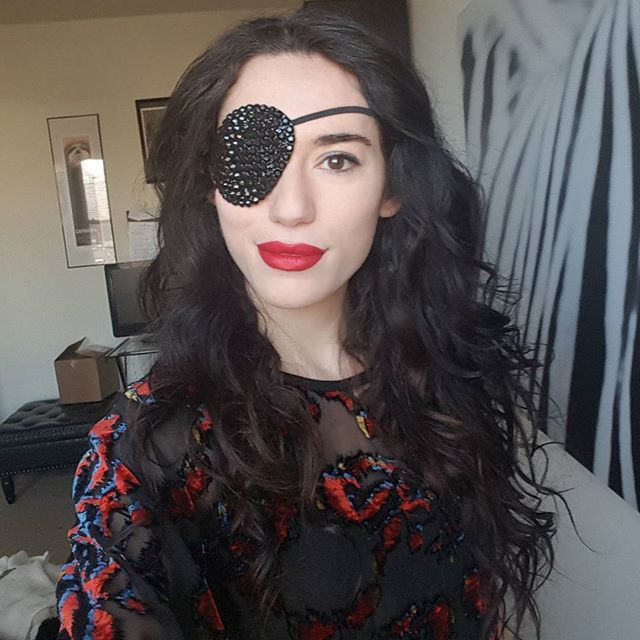 Girl With Eyepatch - New Porn-5132