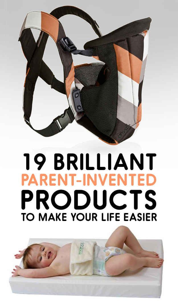 19 Brilliant Parent Invented Products To Make Your Life Easier