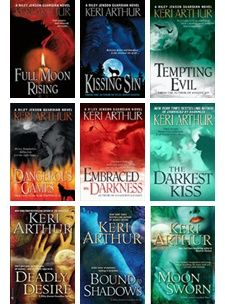 """Riley Jenson Guardian"" series by Keri Arthur ... Another recommendation on my list"