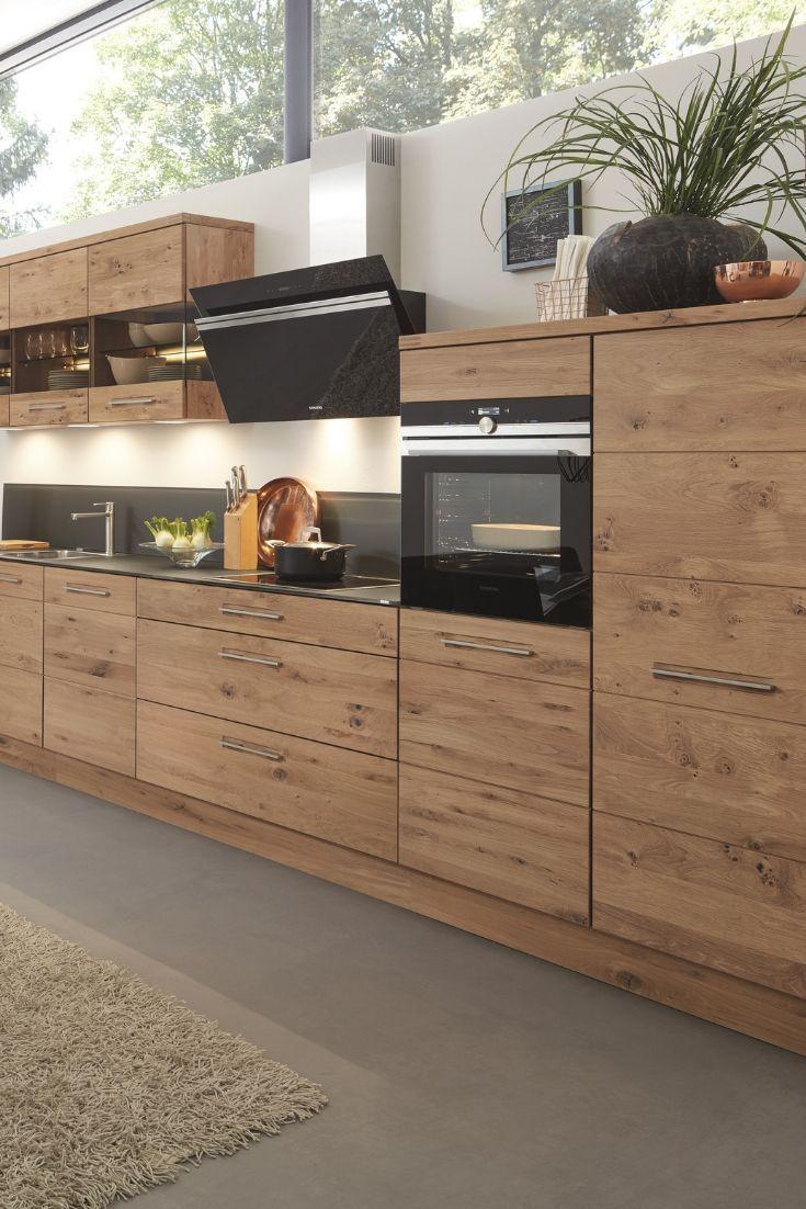Kuchenkombination Calezzo Front Asteiche Haus Kuchen Wohnung Kuche Kuchen Design