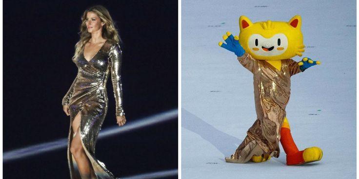 Gisele Bündchen protagonizou um dos momentos mais marcantes da abertura dos Jogos Olímpicos do Rio 2016 ao cruzar a arena do Maracanã ao som de Garota de Ipanema, de Tom Jobim,