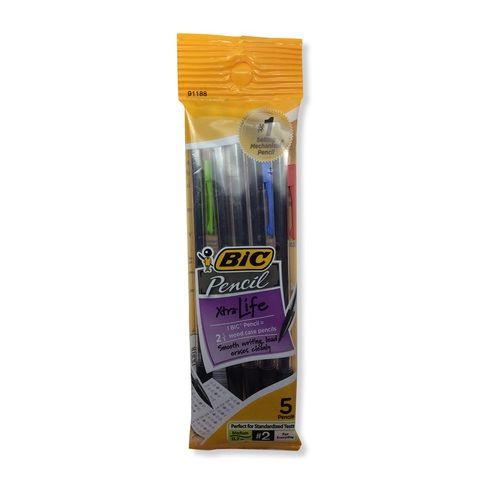 Bic Pencil Xtra-Life - 5 Pk