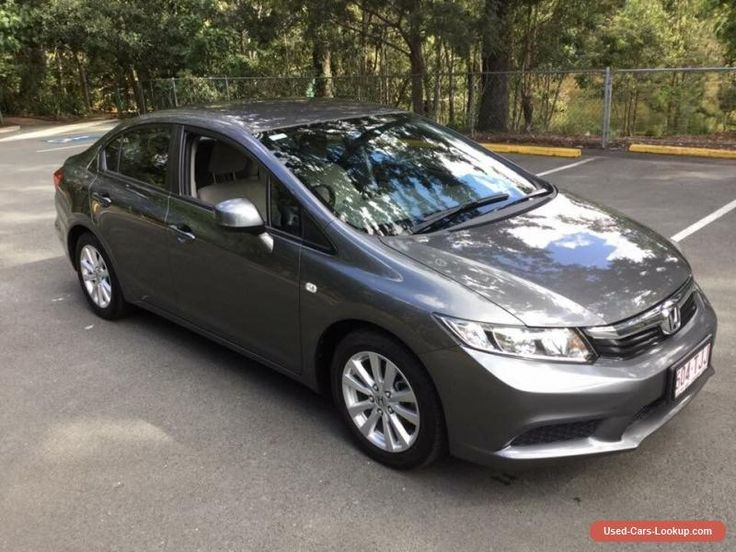 2013 Honda Civic Series 2 VTi-L Automatic 5sp A Sedan #honda #civic #forsale #australia