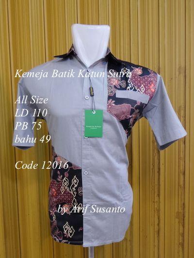 #kemeja #batik #sutra #online #pesanan #seragam #jahit terima pesanan kemeja batik halus desain Arif Susanto, harga jamin murah Rp.110.000 ,- ( US $ 10 )  Call / Whatup +628122369878