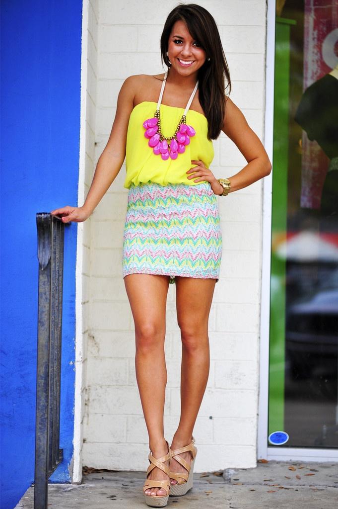 Summertime Fine Dress: Lemon | Hope's