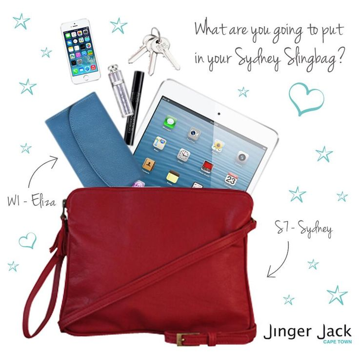 Love your slingbag in every way! www.jingerjack.co.za