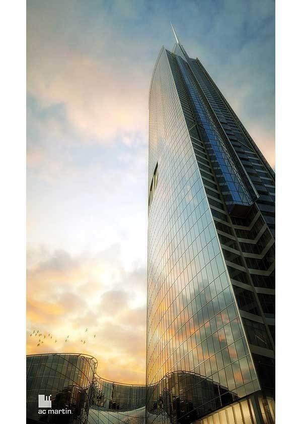 New Wilshire Grand Will Be the West Coast's Tallest Tower - Rendering Reveal - Curbed LA