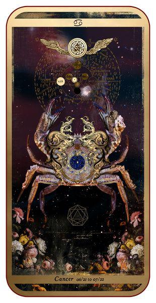 Zodiac : Cancer Art Print
