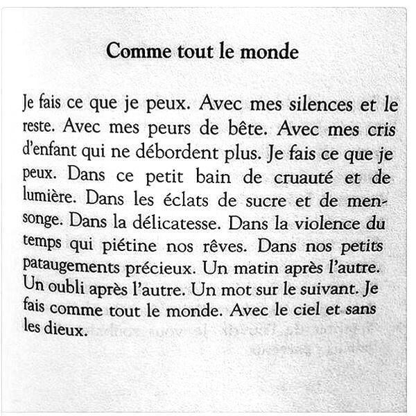 --- Les mots de Bleu de travail / Thomas Vinau