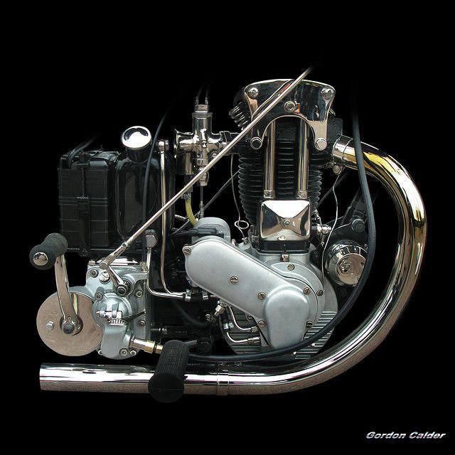 No 58: Vintage ARIEL VF31 ENGINE (1931), by Gordon Calder