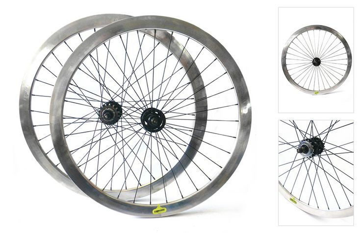 Cinetico Bicycles | Espresso silver wheelset - Custom fixie, single speed and geared bikes built to order in Shoreditch, London