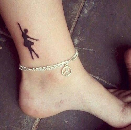 little ballerina tattoo