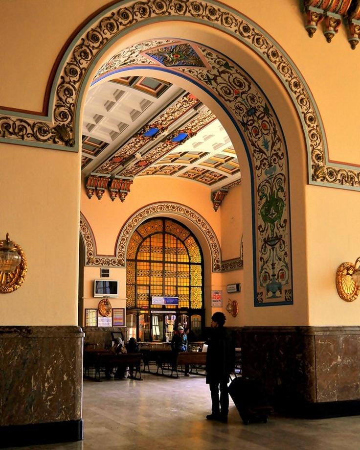 Haydarpaşa train station - İstanbul