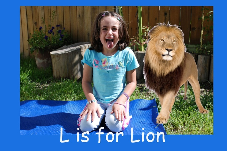 Patti's Preschool Resources: More Yoga Pictures