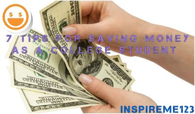 inspireme123: How to spend less money (COLLEGE EDITION)