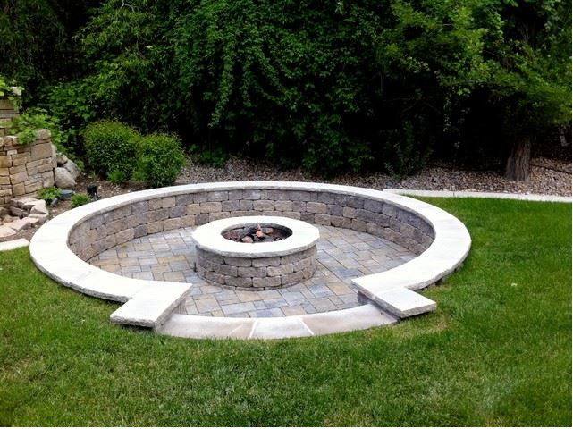 the 25 best ideas about sunken fire pits on pinterest