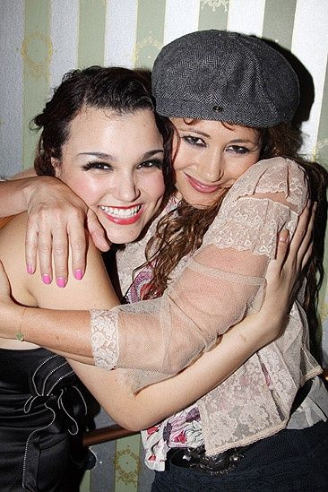Sam Barks and Frances Ruffelle