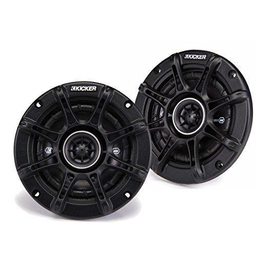 "2) Kicker 41DSC44 D-Series 4"" 120 Watt 4-Ohm 2-Way Car Audio Coaxial Speakers * Peak: 120 watts * RMS: 30 watts * Thin-Profile * (Placed within the Amazon Associates program) * 01:15 Mar 18 2017"
