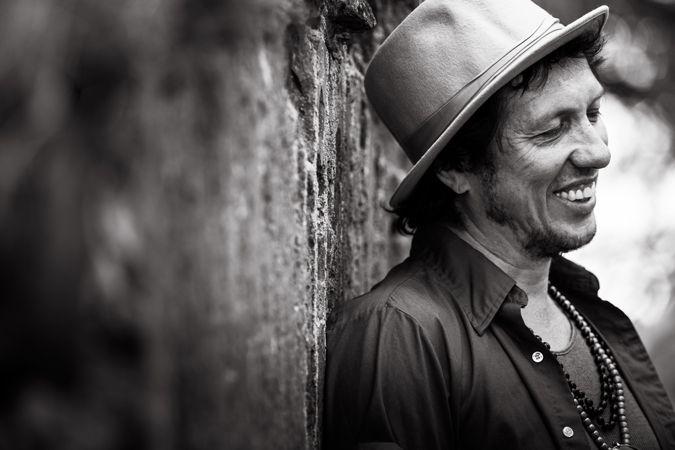 Legendary Sami Yaffa from Hanoi Rocks. Photo by Terhi Ylimäinen