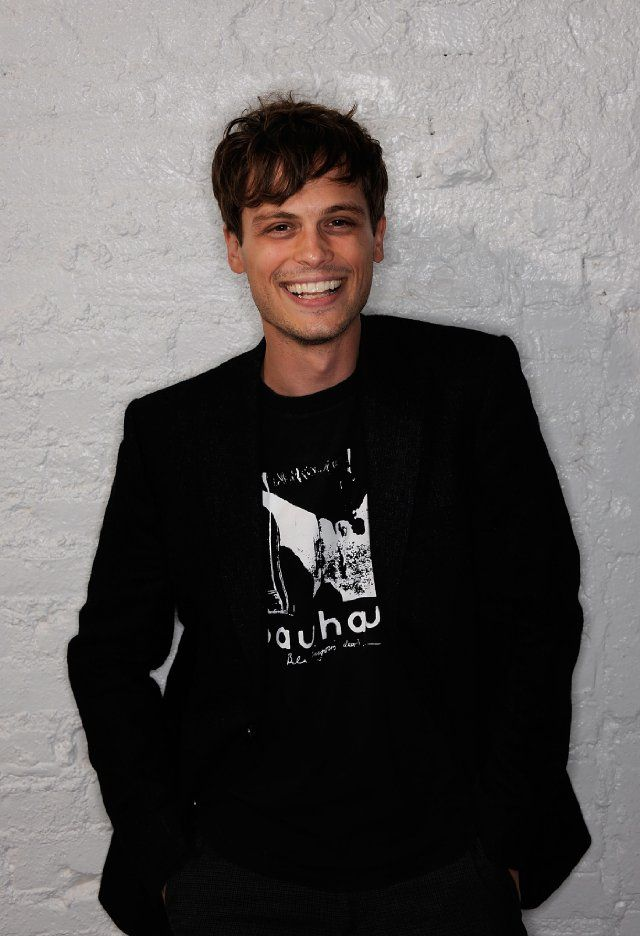 Matthew Gray Gubler, or Dr. Spencer Reid if you're a Criminal Minds freak like me ;)