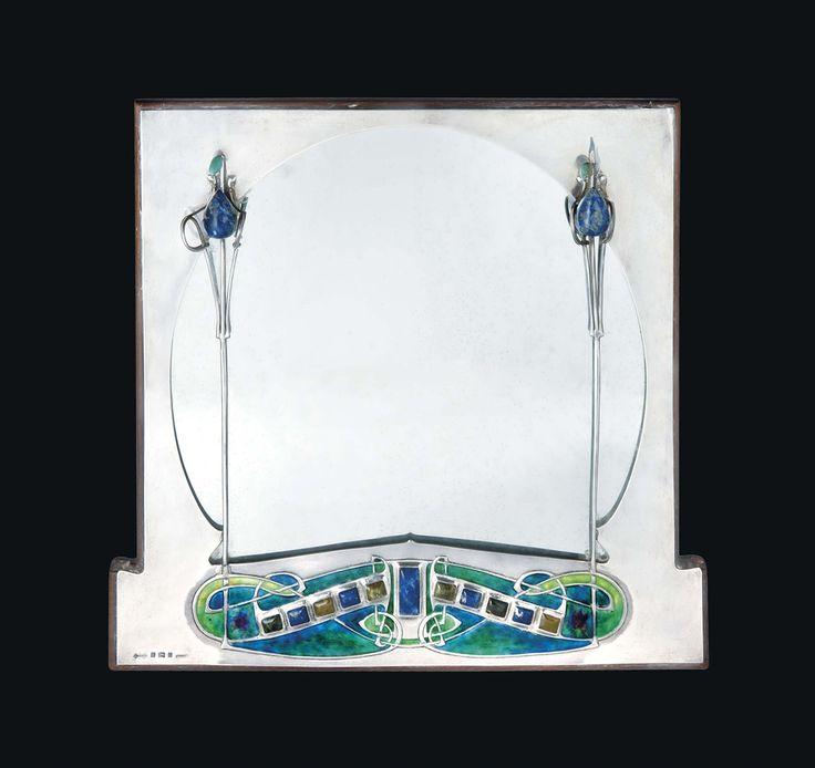 Archibald Knox (1864-1933) Important Cymric Mirror, 1903