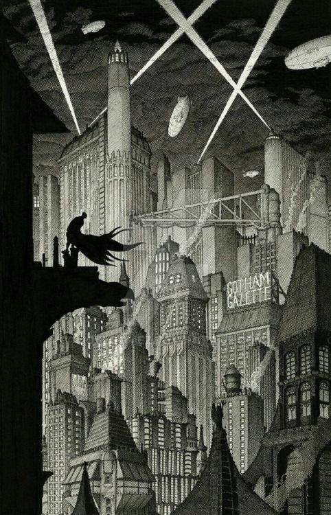 Gotham Nights - Joel Gomez