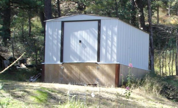 Get More Out of a Cheap Metal Shed