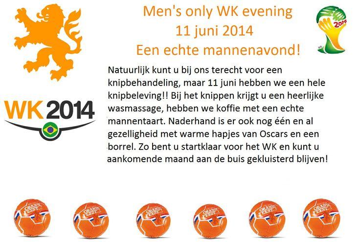 Men's only WK evening
