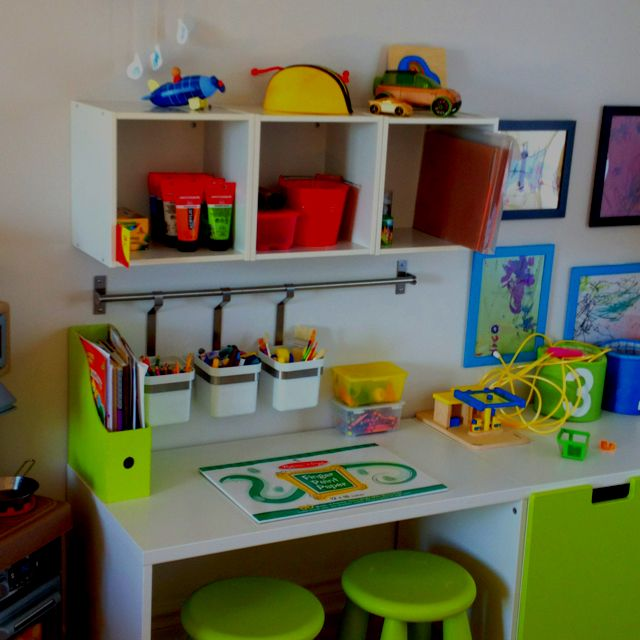 17 best ideas about bureau enfants on pinterest bureau Amenagement bureau ikea