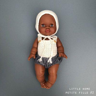 5304229bf6653 Commandez en ligne la Poupée Poupon Petite fille Métisse habillée PAOLA  REINA l little-home