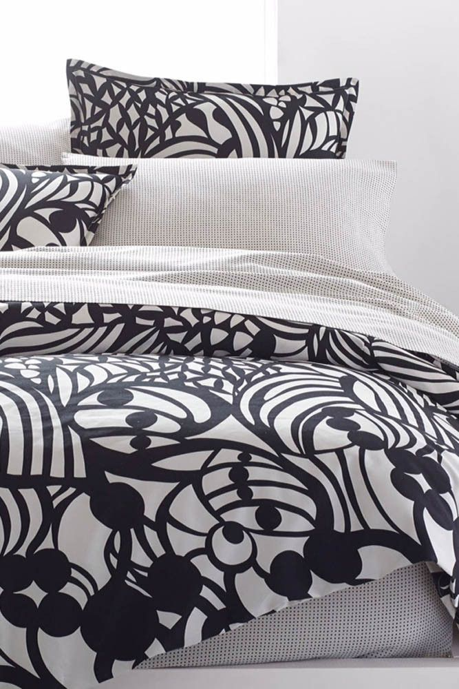 marimekko - Muru US Sized Sheet Sets White/Grey