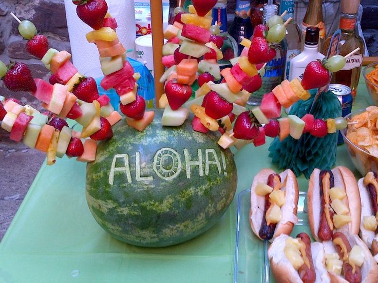 Nice idea! Aloha! Hawaiian Party
