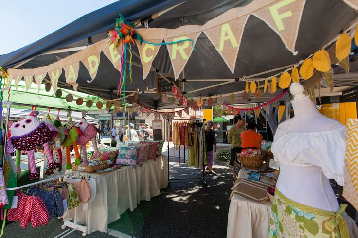 At the Edith Street Art/Craft/Vintage/Retro market (first Saturday of the month)