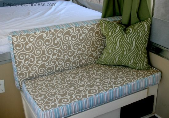 How to Reupholster Camper Cushions