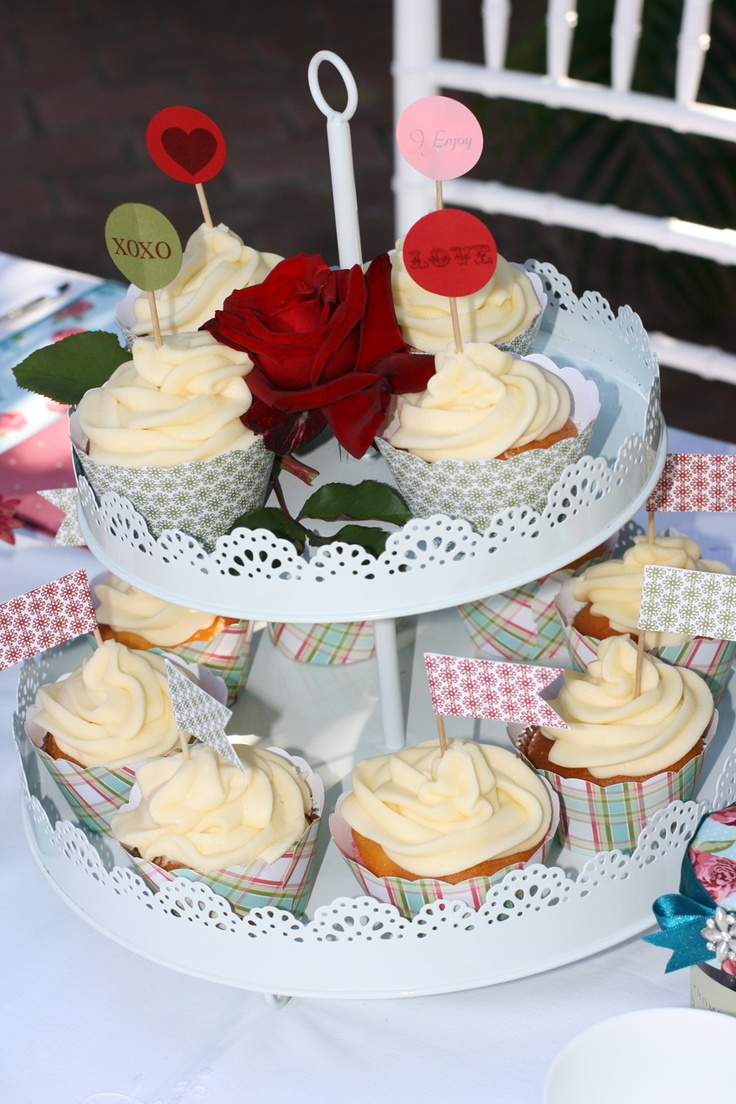 What is a high tea with out cupcakes?