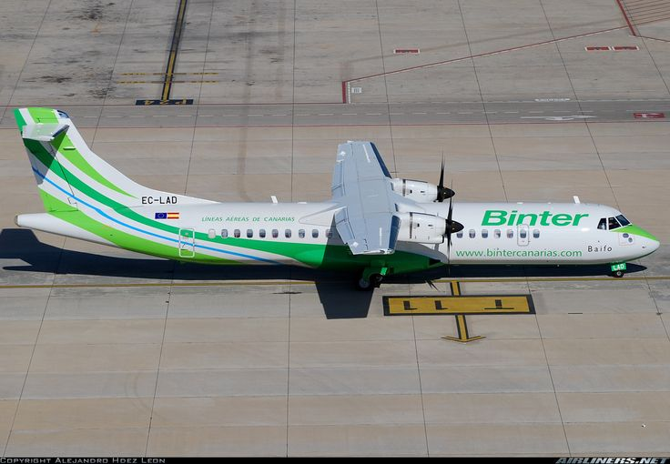 ATR ATR-72-500 (ATR-72-212A) - Binter Canarias (Naysa - Navegacion y Servicios Aereos Canarios)   Aviation Photo #1542225   Airliners.net