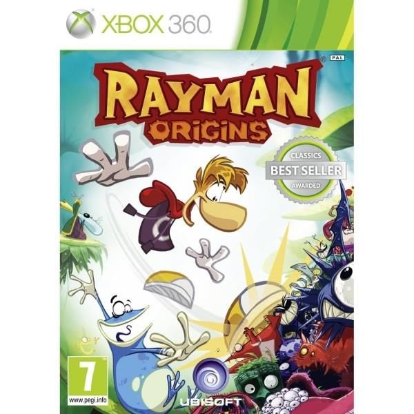 Rayman Origins Game (Classics) Xbox 360 | http://gamesactions.com shares #new #latest #videogames #games for #pc #psp #ps3 #wii #xbox #nintendo #3ds
