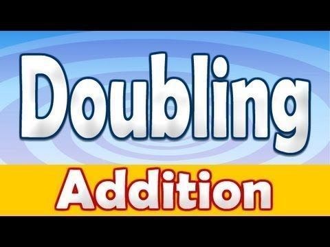 Addition Doubling Numbers Song ♫ - YouTube