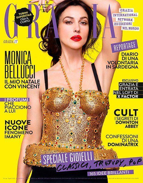 Monica Bellucci (2013.12.05. Grazia) #MonicaBellucci