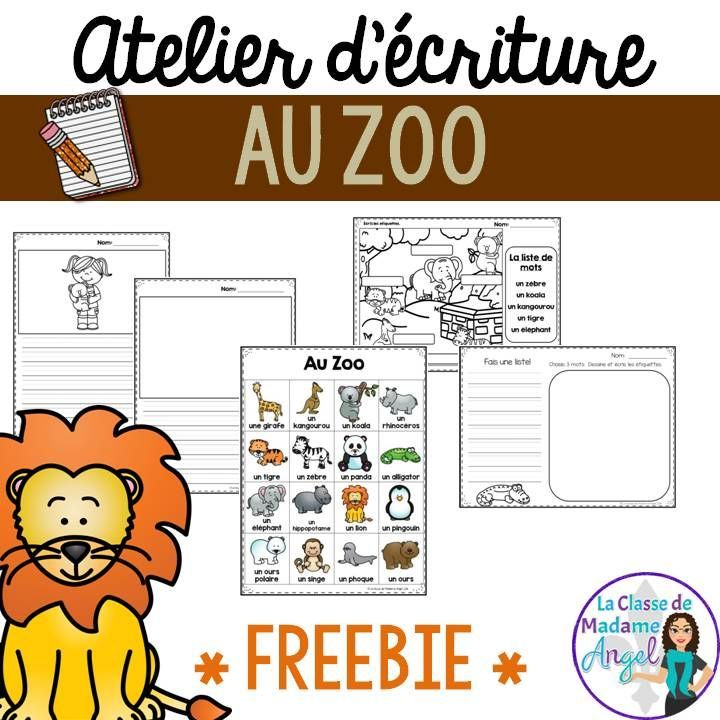 "FREE writing station in French!  Great ideas for an ""atelier d'écriture""."