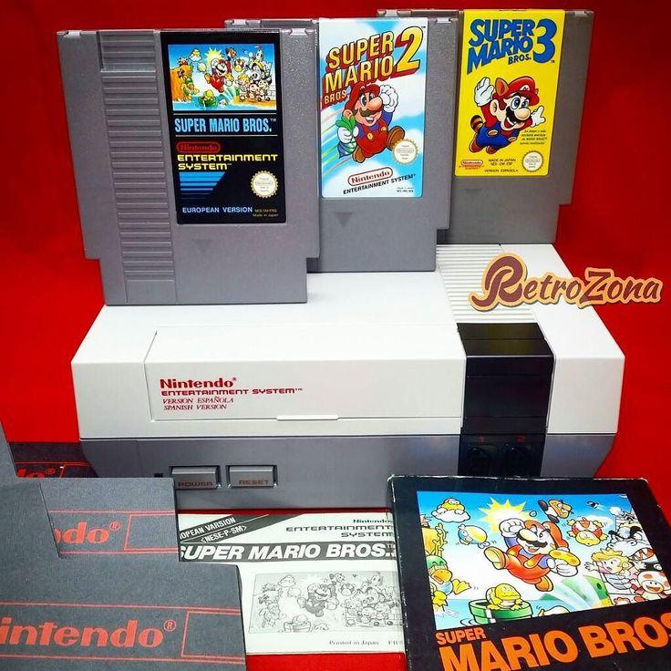 By retrozona: Super Mario Bros (1985) Super Mario Bros 2 (1988) y Super Mario Bros 3 (1988). El mejor sin duda Super Mario Bros 3 una gran obra aprovecha el maximo rendimiento de la Nes. Como anécdota el Super Mario Bros 2 que nos llego aquí no es el originario de Japón ya que se consideró que era demasiado difícil para occidente cogieron Doki Doki Panic le cambiaron los personajes por los de Mario y nos la metieron doblada jejje. El verdadero Super Mario Bros 2 se puede jugar en el Super…