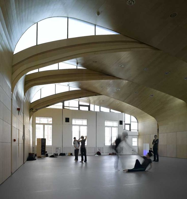 Siobhan Davies Studios, London SE1 by   Sarah Wigglesworth Architects
