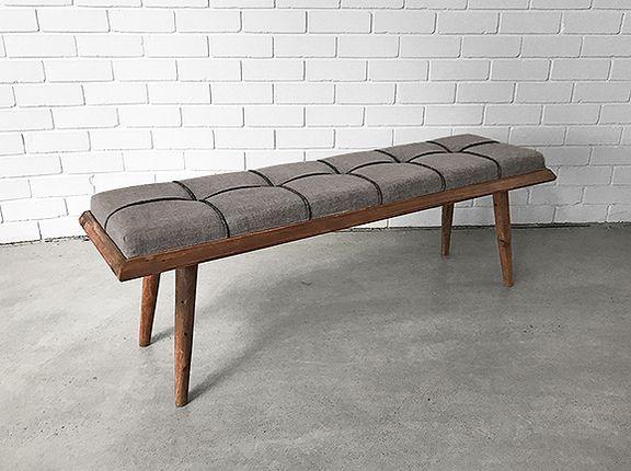 Scandinavian Cushion Bench Seat Retro Design Holy Funk 画像あり