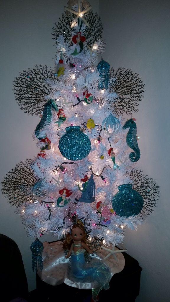 Little Mermaid Christmas tree