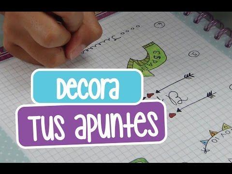 CÓMO HACER APUNTES MUY BONITOS! (Títulos y más!) - YouTube