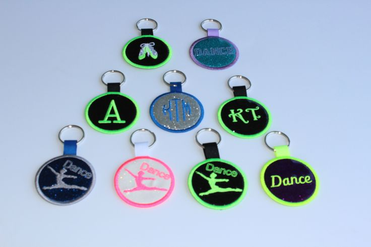 Tag It!-ID tags for your bags. Tag It! A new way to customize your bags. Tag It with name, initials, monogram or image. When your done with your bag, simply remove your tag! Only $9.98 www.allaboutattitudedancewear.com