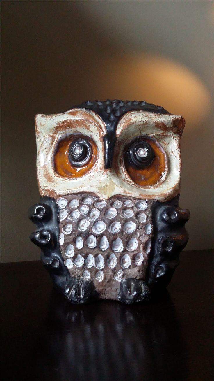 Ceramic owl, Sweden