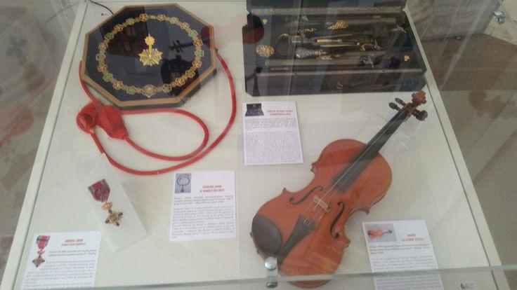 George Enescu, instrument